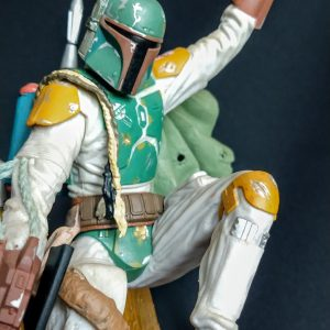 Star Wars Boba Fett Unleashed Statue Hasbro