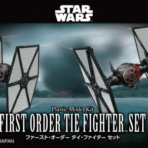 Star Wars FO Tie Fighters 1/144 Kit BANDAI