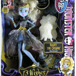Boneca Monster High Abbey Bominable 13 Wishes Assinada