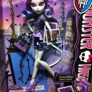 Boneca Monster High Catrine DeMew Scaris