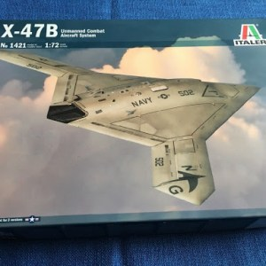 X-47B Unmaned Fighter 1/72 Italeri