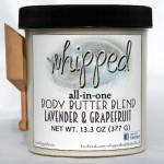 whipped body butter blend lavender & grapefruit large jar