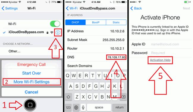use DNS method