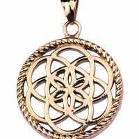 Traumfänger® Amulett Blume