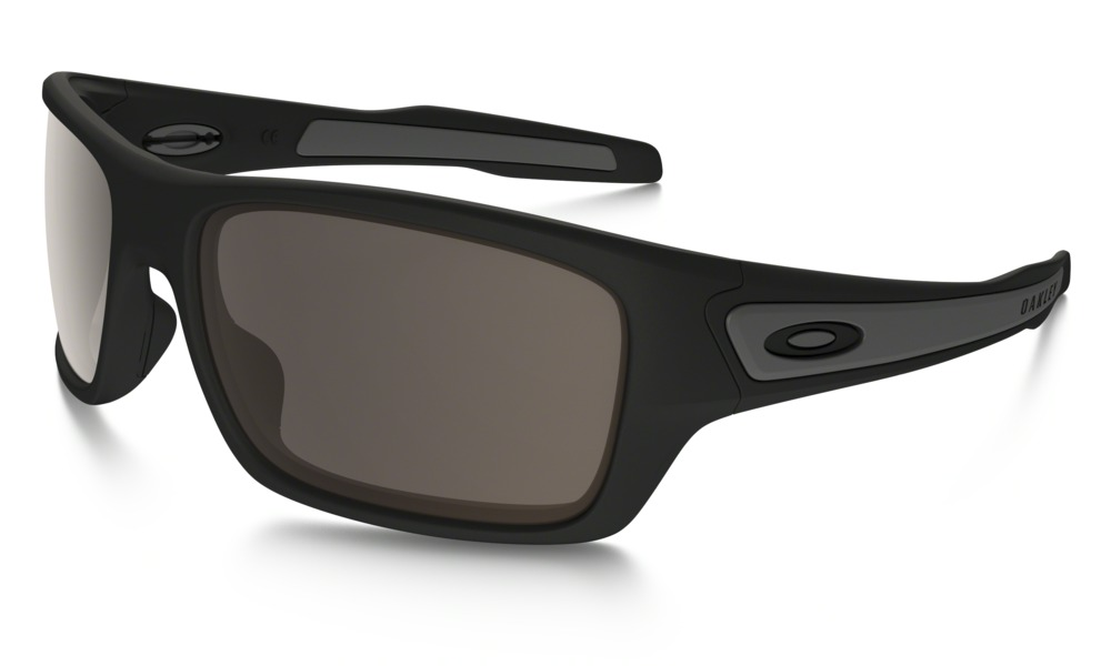 9bddea2be53 Oakley Turbine Matte Black Warm Grey Sunglasses