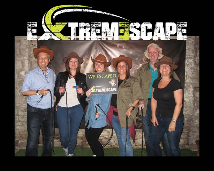 Stockport Accountants IN-Accountancy at Extremescape Escape Rooms