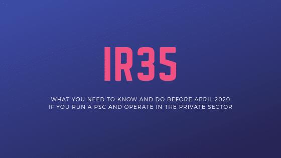 IR35 April 2020