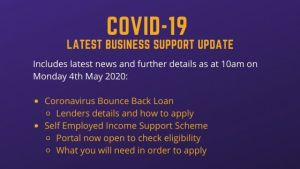 Bounce Back Loan Scheme Goes Live and More on SEISS
