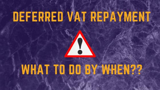VAT Deferral Payment Scheme