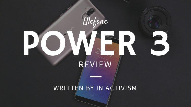 Ulefone Power 3 実機レビュー・評価・感想|Hi-Fiチップと顔認証機能搭載のハイコスパスマホ