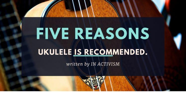 楽器挫折経験者にウクレレがおすすめな5つの理由|今日からあなたも楽器奏者