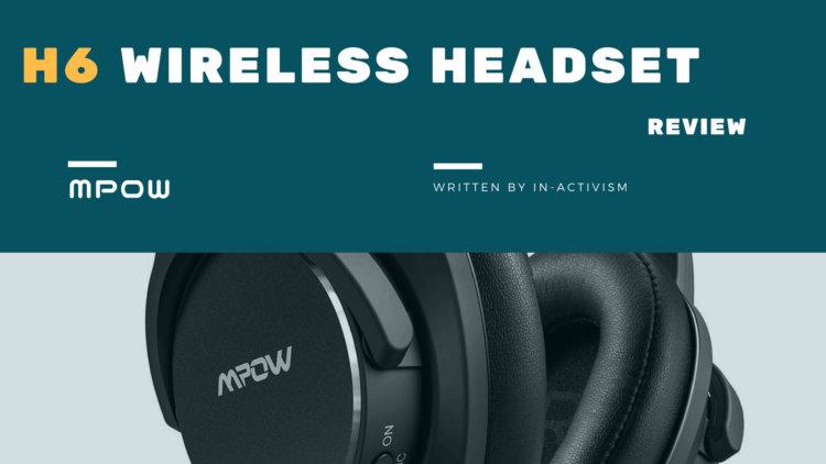 MPOW H6 Bluetooth ヘッドホン 実機レビュー|オンイヤー型ANC搭載無線有線両対応ハイコスパヘッドホン【BH160A】
