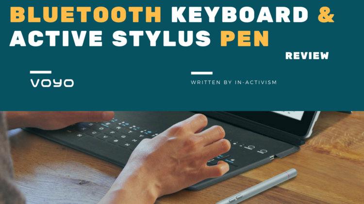 VOYO i8 Max 専用キーボード / スタイラスペン 実機レビュー・評価・感想|価格以上のFUNがあるVOYO正規互換品