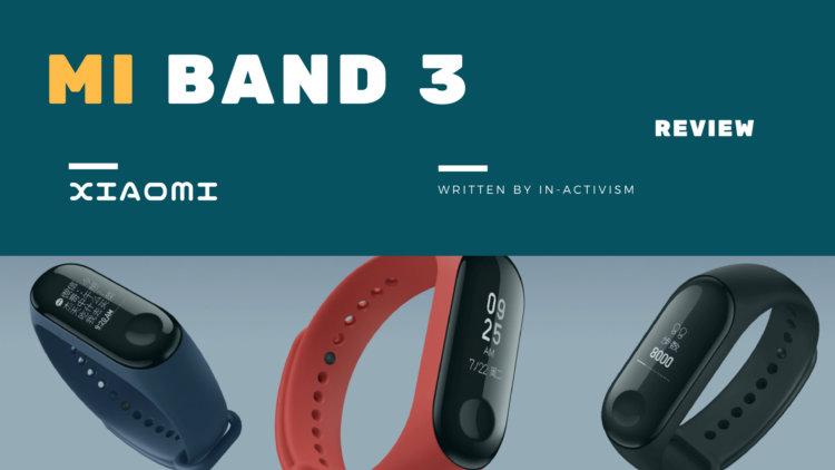 Xiaomi Mi Band 3 スペック詳細・実機レビュー|OLED液晶・5気圧防水・アプリ通知他多機能激安スマートバンド