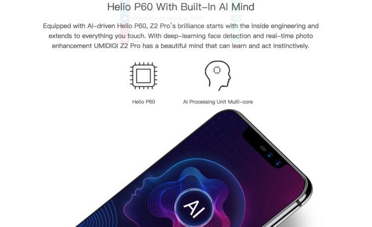 Z2/Z2 Proは処理能力向上とAI機能搭載