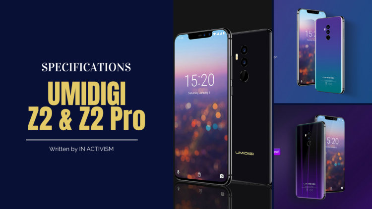 UMIDIGI Z2 / Z2 Pro スペック詳細|iPhone X類似デザイントグラデーションワイライトカラーが美しいノッチフラッグシップモデル