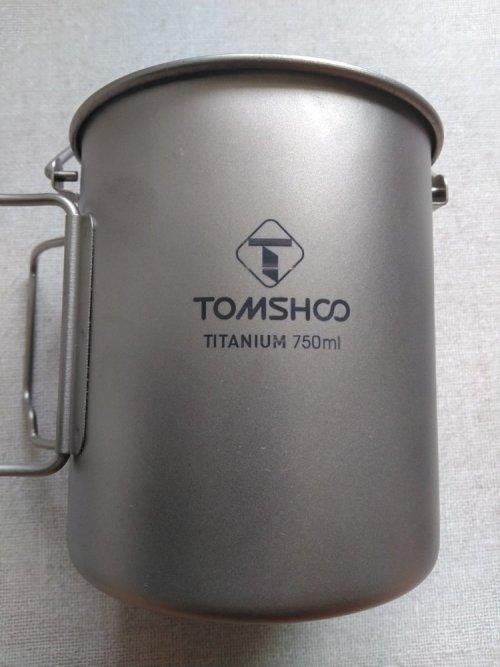 TOMSHOO TITANIUM 750ml
