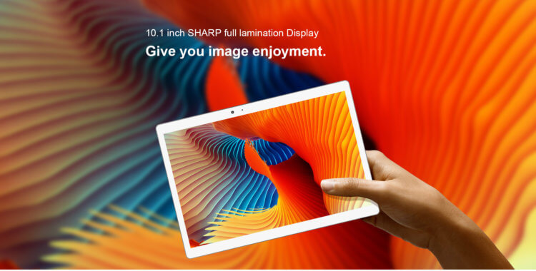 Teclast T20 2K高解像度10.1インチSHARP製フルイルミネーションディスプレイ