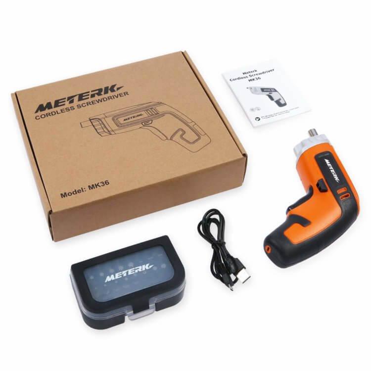 Meterk 充電式電動ドライバーセット 製品の特徴・概要