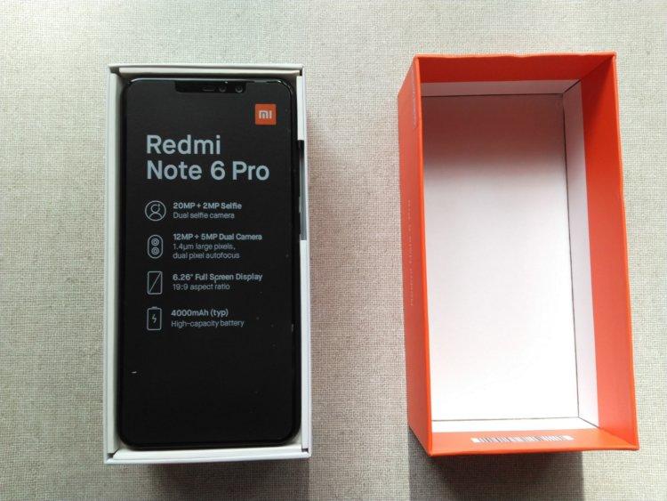 Xiaomi Redmi Note 6 Pro開封の儀