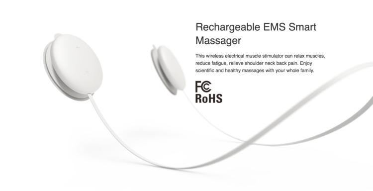 Koogeek EMS アプリコントロール ワイヤレス マッサージャー インプレッション