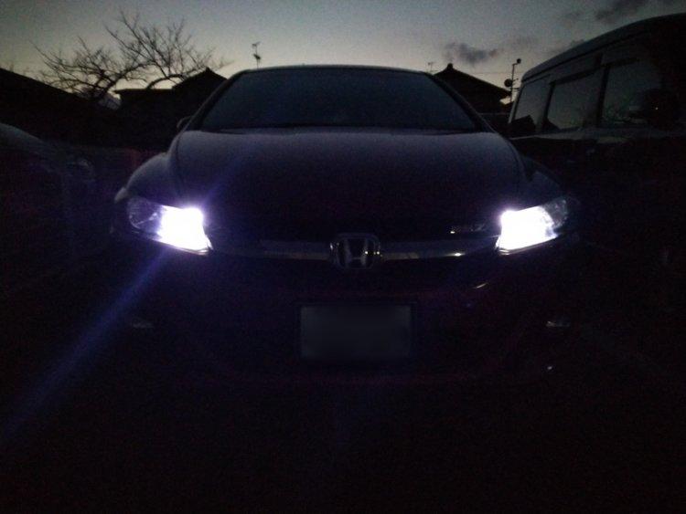 LEDに交換後ポジション灯のみ点灯