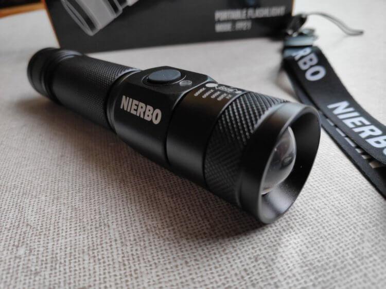 NIERBO USB充電式 LED 懐中電灯(FP21) 総合評価