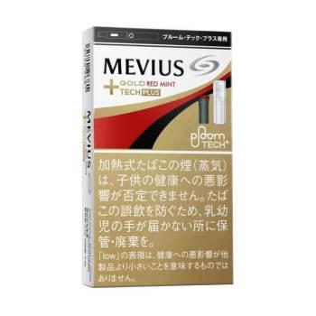メビウス・ゴールド・レッド・ミント・プルーム・テック・プラス専用 外観パッケージ