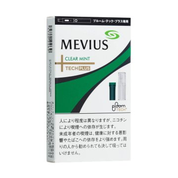 MEVIUS CLEAR MINT for Ploom TECH+ メビウス・クリア・ミント・フォー・プルーム・テック・プラス 外観