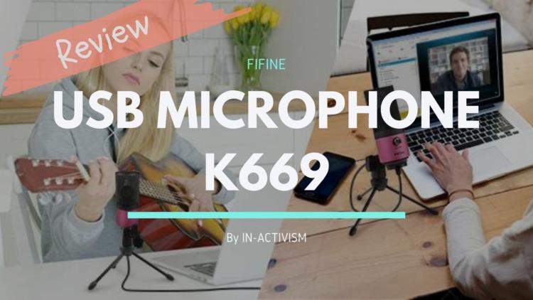 FIFINE ファイファイン USB マイク K669 レビュー|配信初心者向け簡単コスパ重視のエントリー廉価マイク