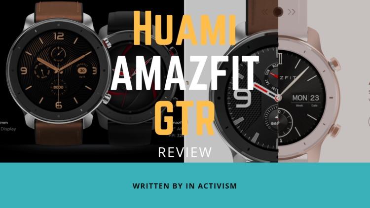 Huami Amazfit GTR スペック詳細|ハイセンスさに磨きがかかった超コスパモンスター