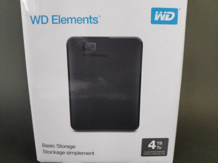 WD Elements Portable WDBU6Y0040BBK-WESN 実機レビュー