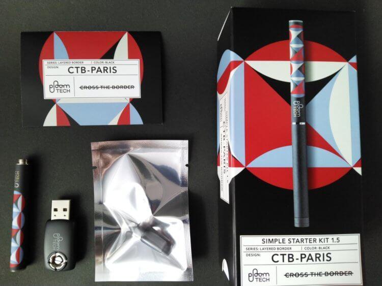 プルームテック(Ploom TECH)・シンプルスターターキット Ver 1.5<CTB-PARIS>