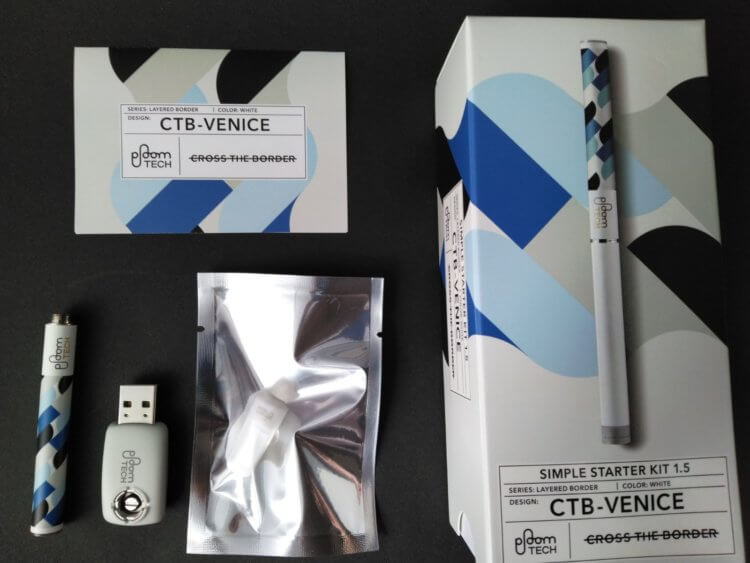 プルームテック(Ploom TECH)・シンプルスターターキット Ver 1.5<CTB-VENICE>