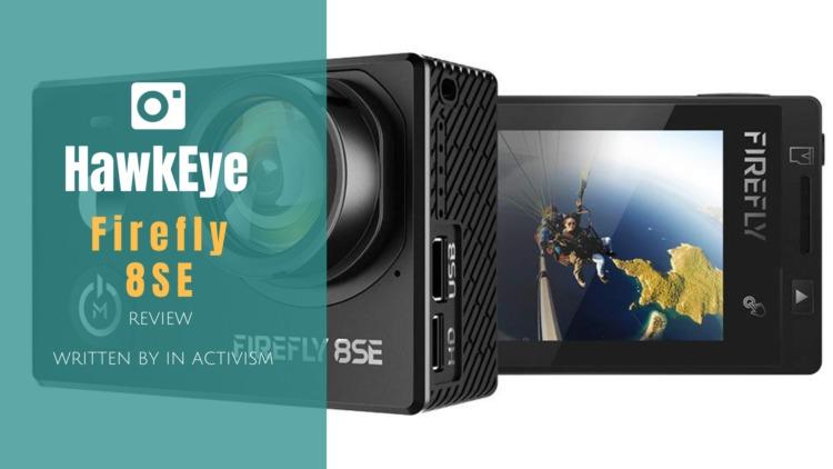Hawkeye Firefly 8SE レビュー|AmbarellaチップセットSonyイメージセンサー背面タッチディスプレイ搭載ハイコスパ中華アクションカメラ
