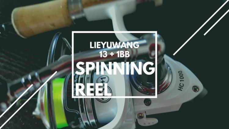 LIEYUWANG 13 + 1BB HC1000 レビュー|中華激安リールはアタリが出ればコスパ最強!宝探し感覚で探すと面白い