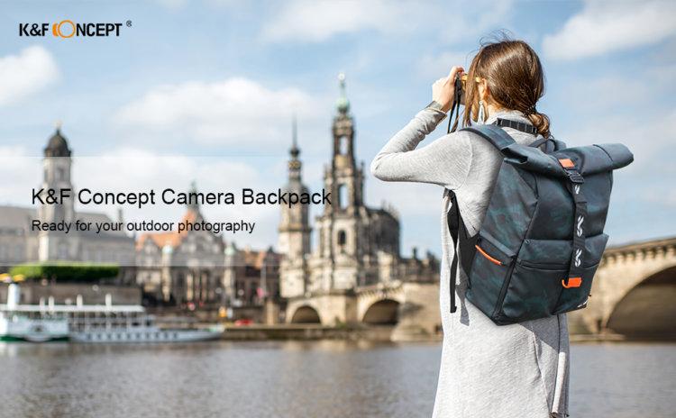 K&F Conceptカメラバックパック KF13.096 インプレッション