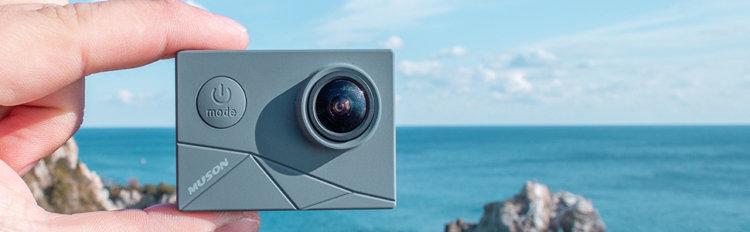 MUSON(ムソン) MAX1 アクションカメラ インプレッション