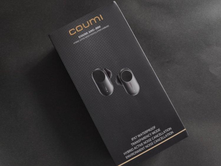 COUMI ANC860ハイブリッド ノイズキャンセリング 完全ワイヤレスイヤホン 実機レビュー・評価・感想