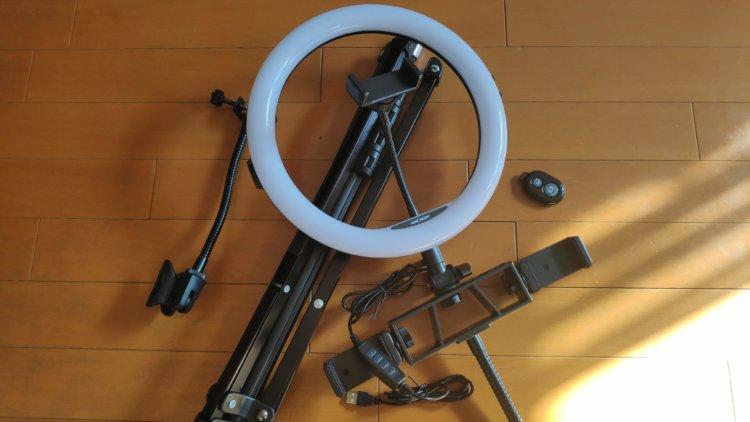 K&F Concept LED リングライト KF34.014V1 KF34.020 総合評価