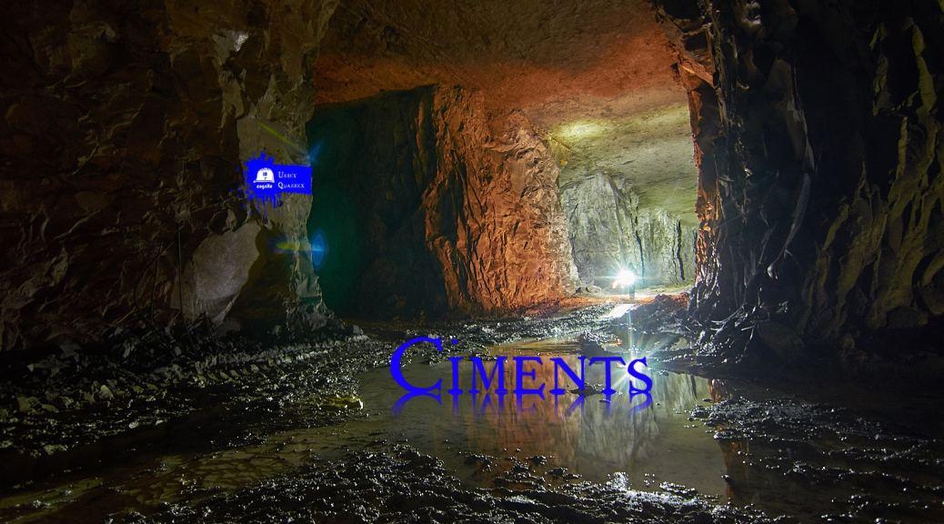 Carriere souterraine de ciment
