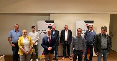 Garreler CDU wählt neuen Vorstand