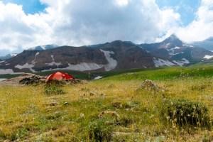 Camp at 3000