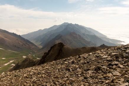 Peaks as far as the eye can reach