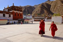Entrance of Labrang