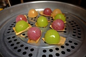 Multicolored Steam Dumplings