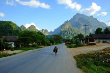 On the Way to Vang Vieng