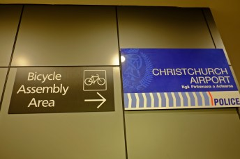 Dedicated Bicycle Assembly Area
