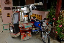 Filipinos can get really creative about their Tricycles