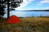 Camping at Lake Pukaki